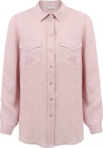 Różowa koszula L'AF z tkaniny