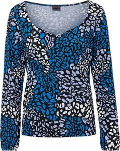 Bluzka bonprix z długim rękawem z okrągłym dekoltem w stylu casual