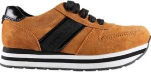 Brązowe buty sportowe Tom Tailor