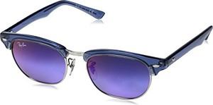 Ray-Ban Junior Ray-Ban Unisex-dziecięce okulary przeciwsłoneczne Junior 7037b1, niebieski (przezroczysty bluette/Green blueeg Violet), 47