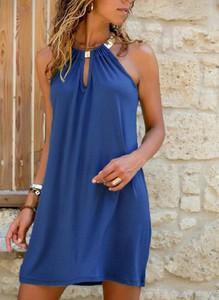 Sukienka Cikelly w stylu casual bez rękawów mini