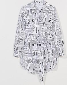 Koszula Mohito z bawełny w stylu casual z długim rękawem