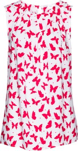 Bluzka bonprix bpc selection na ramiączkach w stylu casual z dekoltem w łódkę