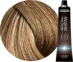 L'Oreal Paris Loreal Majirel Cool Cover | Trwała farba do włosów o chłodnych odcieniach - kolor 8 jasny blond 50ml
