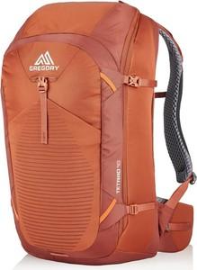 Pomarańczowy plecak męski Gregory