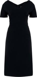 Granatowa sukienka Persona by Marina Rinaldi mini