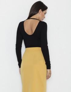 Żółta spódnica Figl