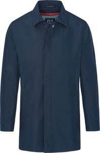 Niebieski płaszcz męski Lavard