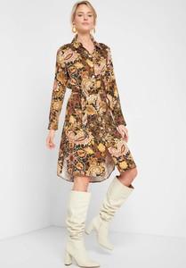 Sukienka ORSAY koszulowa mini z długim rękawem