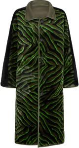 Turkusowy płaszcz Urbancode London