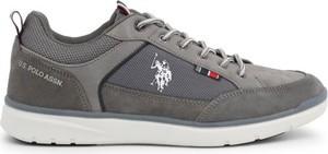 Buty sportowe U.S. Polo sznurowane z zamszu