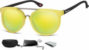 Stylion Okulary dziecięce lenonki Unisex lustrzanki matowe CS70C