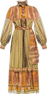 Sukienka Etro z jedwabiu