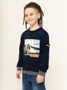 Granatowa bluza dziecięca Mayoral