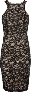 Sukienka bonprix BODYFLIRT boutique z dekoltem halter mini