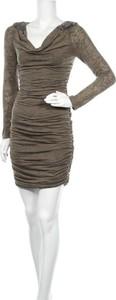 Sukienka Inc International Concepts z dekoltem w kształcie litery v mini dopasowana