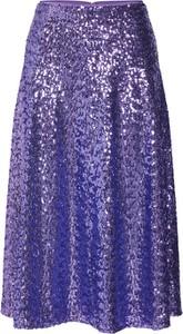 Fioletowa spódnica Samsoe Samsoe