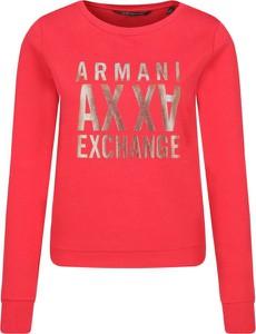 Czerwona bluza Armani Jeans w stylu casual