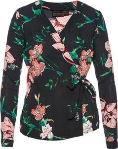 Bluzka bonprix bpc selection z dekoltem w kształcie litery v w stylu casual
