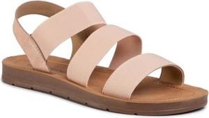 Różowe sandały Bassano