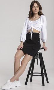 Czarna spódnica Renee mini