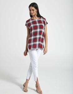 Spodnie Ennywear w sportowym stylu z tkaniny