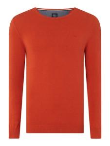 Czerwony sweter S.Oliver Red Label w stylu casual z bawełny