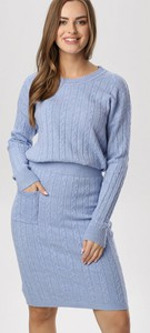 Niebieski dres born2be