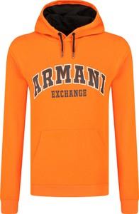 Pomarańczowa bluza Armani Exchange