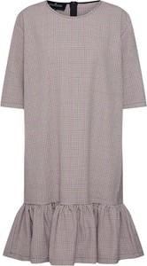 Sukienka DESIGNERS REMIX z krótkim rękawem