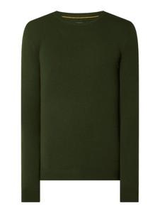 Zielony sweter McNeal w stylu casual z wełny