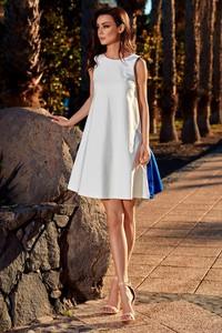 847ef96992 sukienka ecru na wesele. - stylowo i modnie z Allani