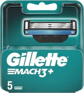 Gillette, wkłady ostrza do maszynki Mach3+, 5 szt.