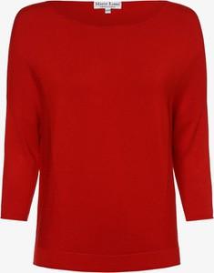 Czerwony sweter Marie Lund z dzianiny w stylu casual