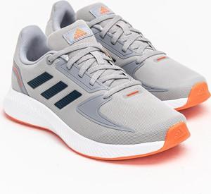 Buty sportowe Adidas z płaską podeszwą sznurowane w sportowym stylu