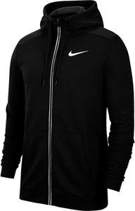 Czarna kurtka Nike w sportowym stylu krótka z tkaniny
