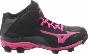 Czarne buty sportowe Mizuno sznurowane