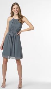 Sukienka Marie Lund bez rękawów mini z okrągłym dekoltem