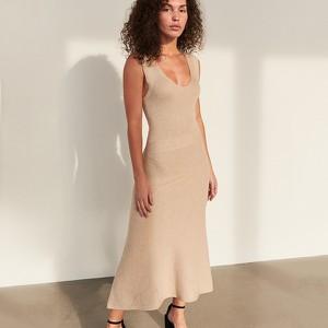 Sukienka Reserved maxi na ramiączkach