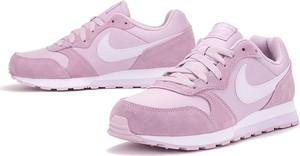 Buty sportowe Nike sznurowane z zamszu