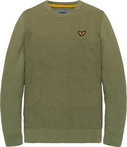 Sweter Pme Legend w stylu casual z okrągłym dekoltem