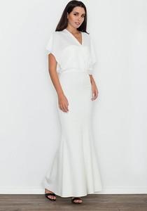 406e9c1115 sukienka ecru krótka - stylowo i modnie z Allani