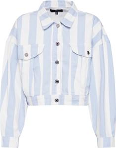 Niebieska kurtka Missguided krótka