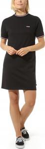 Sukienka Vans z krótkim rękawem mini w stylu casual
