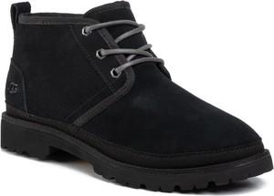 Czarne buty zimowe UGG Australia sznurowane