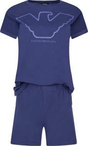 Niebieska piżama Emporio Armani