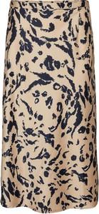 Spódnica WARESHOP z satyny w stylu casual