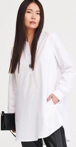 Bluzka Reserved z bawełny z długim rękawem