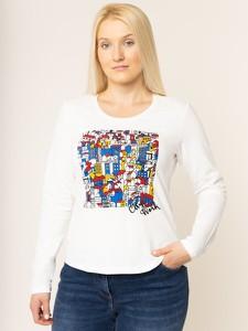 Bluzka Persona by Marina Rinaldi z długim rękawem