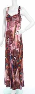 Sukienka Lise Sandahl prosta z dekoltem w kształcie litery v na ramiączkach